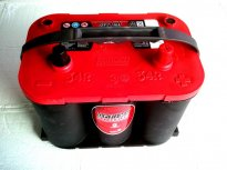 BATTERIA OPTIMA RED TOP AGM 50AH RTR 4.2 Piedino Inferiore e Laterale - Positivo DX