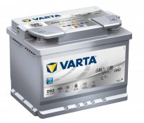 Varta Batteria Start Stop AGM D52 60 Ah 680A
