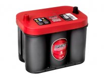 BATTERIA OPTIMA RED TOP AGM 50AH 815A Batteria Freemont Chrysler PT Cruiser e Cherokee RTC4.2 Poli Centrali