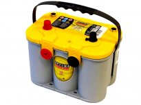 BATTERIA OPTIMA YELLOW TOP AGM 55AH Polo Sx e POLI FRONTALI YTU 4.2 [Wrangler TJ]